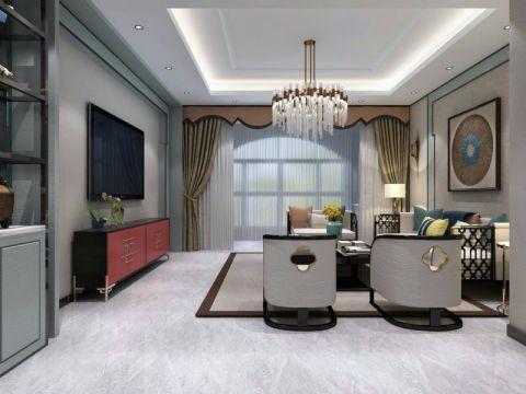 客厅细节新中式风格装饰设计图片