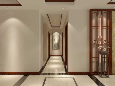 玄关走廊简中风格装潢效果图
