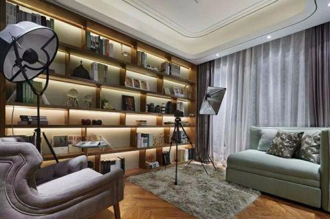 书房书架后现代风格装饰设计图片