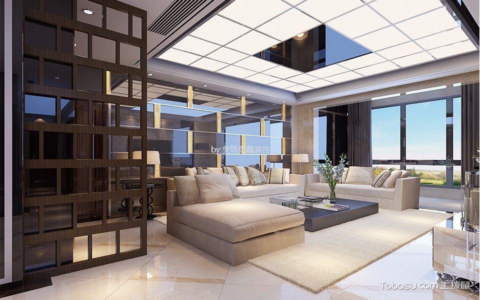 天宝物华205平米后现代风格四居室装修效果图