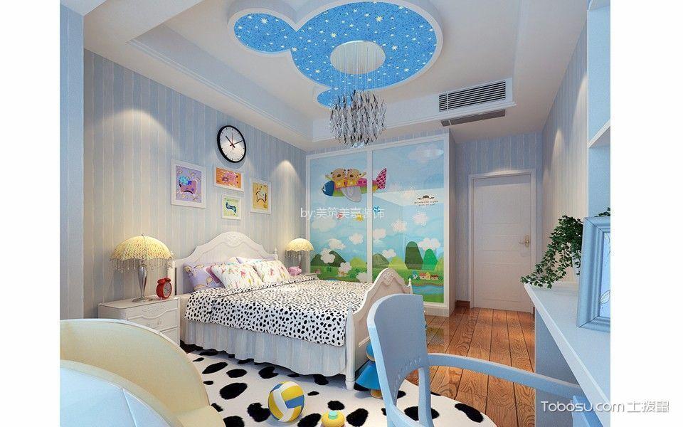 儿童房_天宝物华205平米后现代风格四居室装修效果图