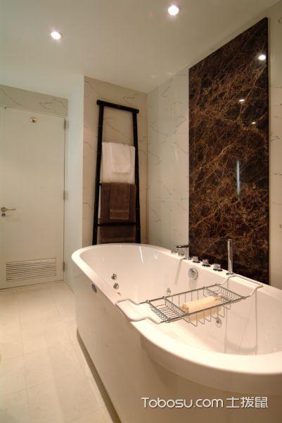 浴室日式风格效果图大全2017图片
