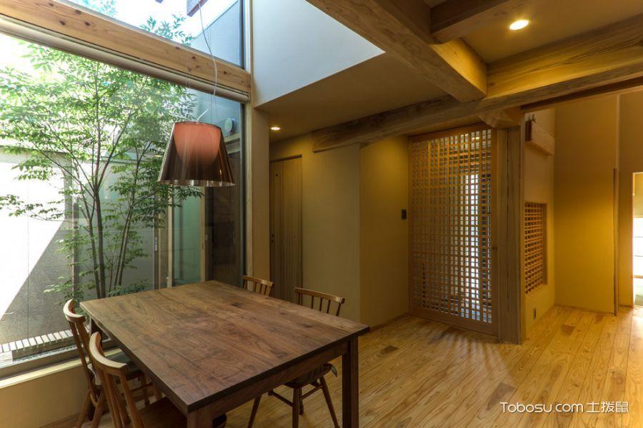 餐厅餐桌日式风格装饰设计图片