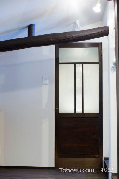 卫生间白色背景墙日式风格装修设计图片
