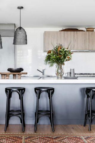厨房吧台混搭风格效果图