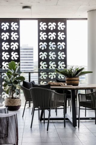 餐厅飘窗混搭风格装潢效果图
