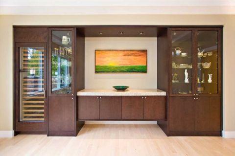 餐厅门厅现代风格效果图