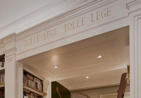 书房细节美式风格装潢图片