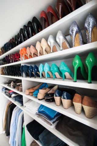衣帽间鞋柜现代风格装饰图片