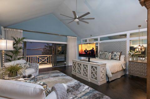 卧室阁楼现代风格装修效果图