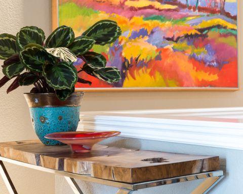 客厅细节混搭风格装潢效果图