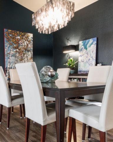 餐厅细节混搭风格装潢图片