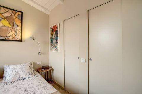 卧室推拉门混搭风格装饰设计图片