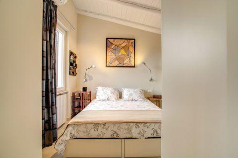 卧室床混搭风格装饰效果图
