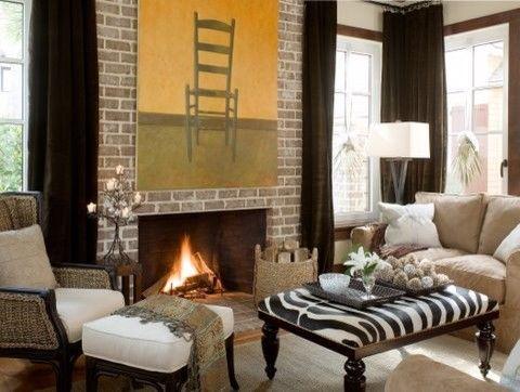 客厅灰色细节简欧风格装修图片