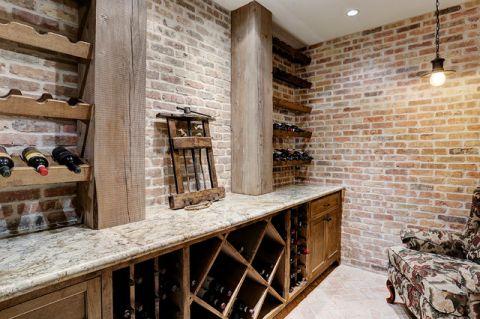 客厅白色细节美式风格装潢设计图片