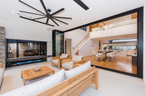 客厅黄色茶几现代风格装修效果图