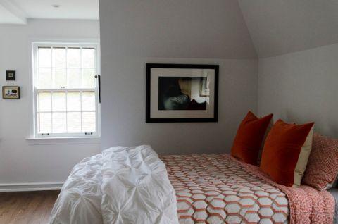 卧室窗台混搭风格装潢图片