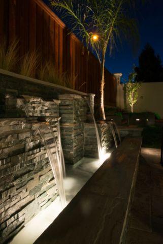 完美舒适现代风格花园装修效果图