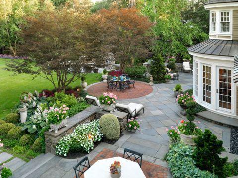 温馨舒适美式风格花园装修效果图