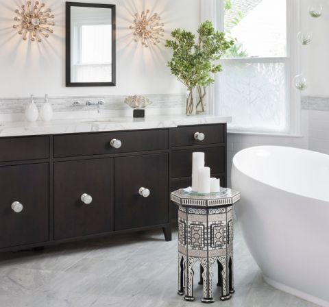 卫生间橱柜混搭风格装修设计图片
