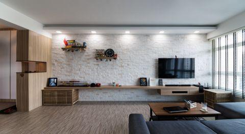 客厅北欧风格效果图大全2017图片_土拨鼠简洁唯美客厅北欧风格装修设计效果图欣赏