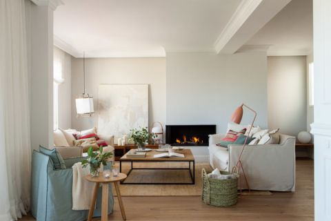 客厅北欧风格效果图大全2017图片_土拨鼠休闲温馨客厅北欧风格装修设计效果图欣赏