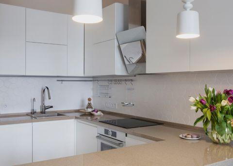 厨房北欧风格效果图大全2017图片_土拨鼠温暖时尚厨房北欧风格装修设计效果图欣赏