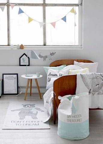 儿童房北欧风格效果图大全2017图片_土拨鼠极致创意儿童房北欧风格装修设计效果图欣赏