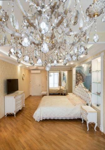 卧室简欧风格效果图大全2017图片_土拨鼠精致迷人卧室简欧风格装修设计效果图欣赏