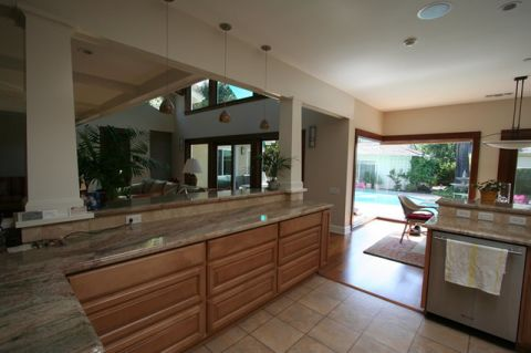 厨房门厅混搭风格装饰效果图