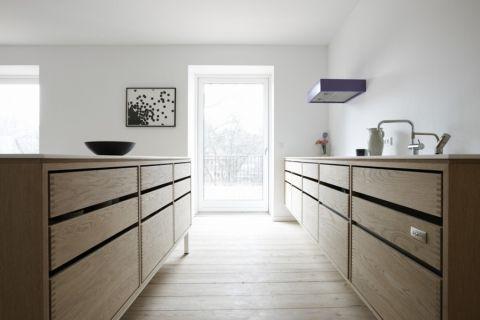 厨房北欧风格效果图大全2017图片_土拨鼠大气雅致厨房北欧风格装修设计效果图欣赏