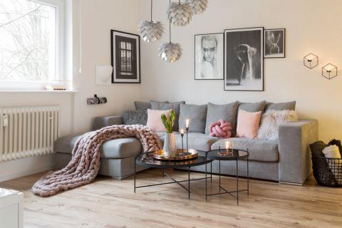 客厅北欧风格效果图大全2017图片_土拨鼠温馨个性卧室北欧风格装修设计效果图欣赏