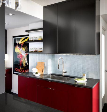厨房现代风格效果图大全2017图片_土拨鼠奢华休闲厨房现代风格装修设计效果图欣赏