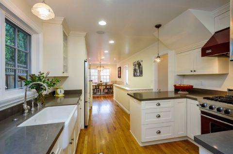 厨房地中海风格效果图大全2017图片_土拨鼠优雅时尚厨房地中海风格装修设计效果图欣赏