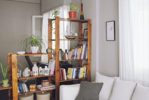 客厅照片墙混搭风格装饰设计图片