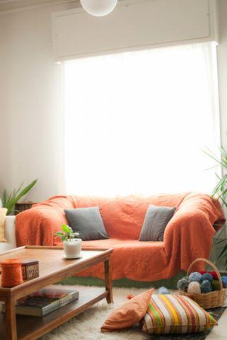 客厅窗台混搭风格装饰效果图
