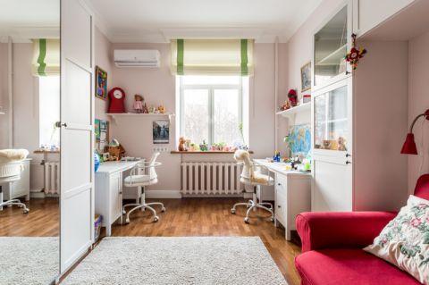 儿童房门厅混搭风格装潢图片