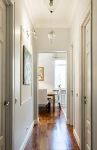 玄关走廊混搭风格效果图