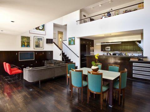 餐厅楼梯现代风格装饰图片