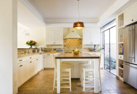 厨房地中海风格效果图大全2017图片_土拨鼠现代温馨厨房地中海风格装修设计效果图欣赏