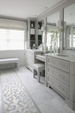 卫生间门厅美式风格效果图