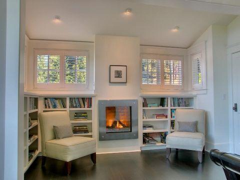 客厅米色美式风格效果图