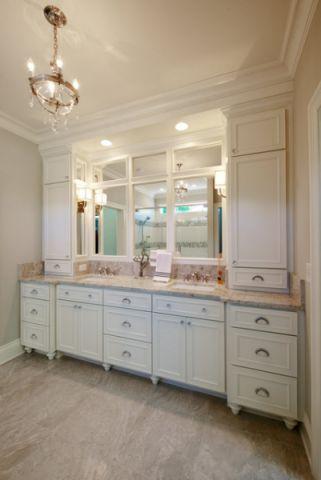 卫生间美式风格装饰图片