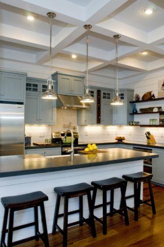 厨房吊顶美式风格装修效果图