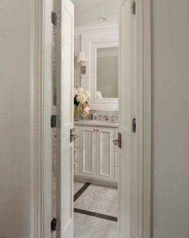 卫生间走廊美式风格效果图