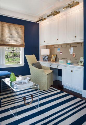 书房橱柜美式风格装潢设计图片
