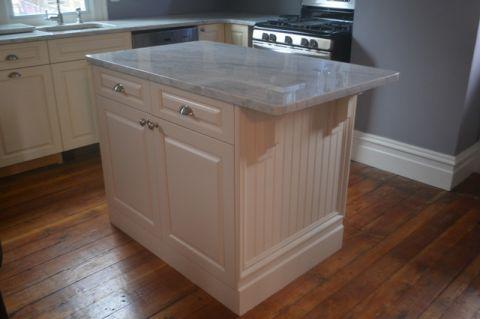 厨房白色厨房岛台简欧风格装修图片