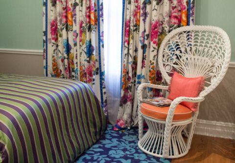 卧室窗帘混搭风格装修图片