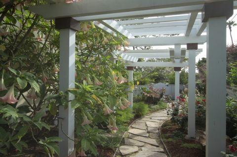 花园细节混搭风格装潢设计图片